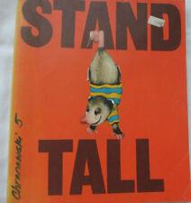 Stand Tall Vintage Textbook Judith Adams MacMillan Pub. 1975 paperback