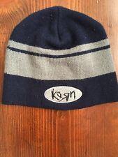 Vintage Korn beanie Striped SKI HAT vtg 90's Nu Metal