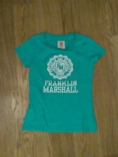 Franklin Marshall Women TShirt Size L 100% Cottom Made in Italy FREE UK Shipping