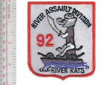 US Navy USN Vietnam River Assault Division RAD 92 Brown-Water Navy The River Rat