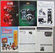 RARE CAMERA COMPANY + CLASSIC COLLECTOR CATALOGUES