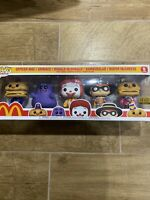 Funko Pop McDonalds Ad Icons 5 Pack Limited Edition IN HAND