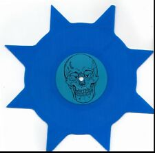 IRON MAIDEN INTERVIEW (ADRIAN SMITH) RARE blue IMPORT vinyl shaped vinl record