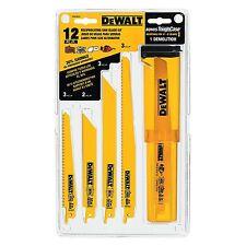 DEWALT 12 Piece Bi-Metal Recip Saw Blade Set - DW4892