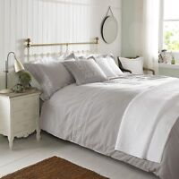 Emma Bridgewater Bedding EMBROIDERED NATURAL Grey Duvet, Cushions or Throw