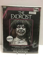 """The Bam! Box Horror """"Exorcist VHS"""" fan art 8x10 print by Trevor Dunt signed"""
