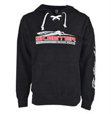 Skeeter Eat, Sleep, Fish Hockey Hoodie, Medium