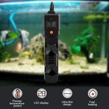 100W LED Aquarium Klein Tauch Wasser Heizstab Einstellbare Wasser Heizung NEU