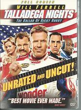 Talladega Nights Ballad Of Ricky Bobby DVD NEW Will Ferrell Sacha Baron Cohen