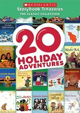 20 HOLIDAY ADVENTURES New DVD Scholastic Storybook Treasures Classic Collection