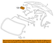 GM OEM Liftgate Tailgate Hatch-Release Button Switch 22895519