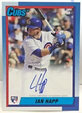 Ian Happ 2017 Topps Arhives National Exclusive RC on-card Autograph Auto - CUBS