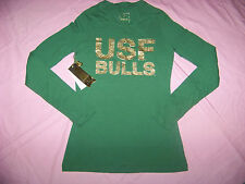 Campus Couture Women's USF University of South Florida Bulls Long Sleeve Shirt