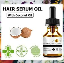 Hair Serum Natural Regrowth Hair Growth Treatment Oil -  With Coconut & Castor