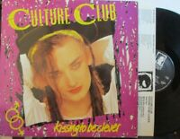 CULTURE CLUB ~ Kissing To Be Clever ~ VINYL LP