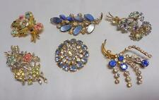 Unbranded Brooch/Pin Retro Costume Jewellery (1940s)
