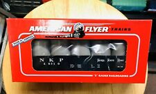 Lionel American Flyer 6-48510 Nickel Plate Road Gondola With Canisters S Scale