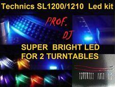 TECHNICS SL 1200/1210  LED KIT EXTRA BRIGHT (for 2 turntables)