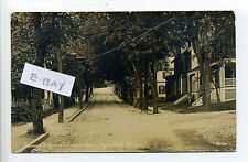 Boston MA Mass Hyde Park, Beacon Street view from Warren Ave RPPC real photo