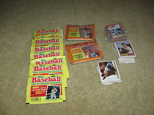 1982 1983 1984 1986 Topps Baseball Stickers 480+ Many HOF Great Deal Free Ship