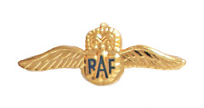 RAF Royal Air Force Sweetheart Wings Tiny Pin Badge - MOD Approved - M018