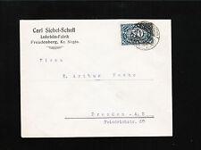 Germany Carl Siebel-Scholl Hide Glue Factory Freudenberg 1923 Cover æ