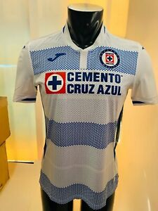 Joma Cruz Azul Away White Blue Jersey 20-21 Size L Men's Only