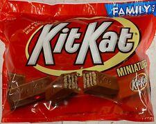 NEW KIT KAT MINIATURES CRISP WAFERS IN MILK CHOCOLATE FAMILY PACK 16.1 OZ BAG