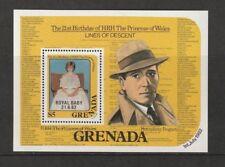Granada 1982 nacimiento del príncipe Guillermo Miniatura Hoja estampillada sin montar o nunca montada