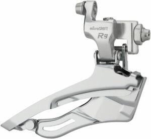 microSHIFT R9 Front Derailleur 9-Speed Triple, 50/39/30T, Braze-On, Shimano