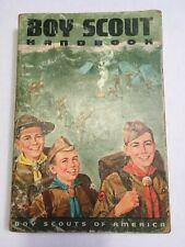 1968 (c)1965 7th Edition Fourth Print Boy Scout Handbook Boy Scouts of America