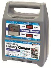 6v & 12v 8Amp Heavy Duty Car Van Boat Bike Automatic Battery Master Charger NEW