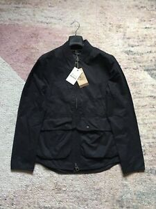 Men's Barbour Camber Wax Jacket Black Medium BNWT