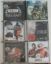 Lote de juegos de PlayStation 3