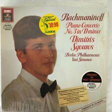 RACHMANINOFF-PIANO CONCERTO NO.3-SGOUROS-EMI DS-38105 VINYL-MEGA RARE-IMPORT