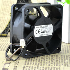 Delta DSB0612L 7W16 DC12V 0.12A 6CM 6025 60mm 60x60x25mm 2Pin Cooling Fan