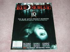 RUE MORGUE magazine # 91, Blair Witch Project, History Death Masks, Combat Shock