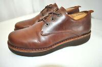Samuel Hubbard M1100-007 $198 Hubbard Free Casual Oxford Brown Leather Men 9 M