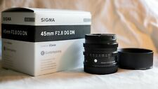 Sigma 45mm f/2.8 DG DN Contemporary Camera Lens - Leica L Full Frame Mirrorless
