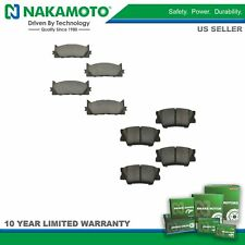 Nakamoto Front & Rear Premium Posi Ceramic Brake Pad Rotor Kit for Toyota Lexus