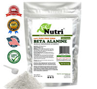 Beta Alanine Unflavored 2.2lb  100% Pure Powder 500 Servings KOSHER