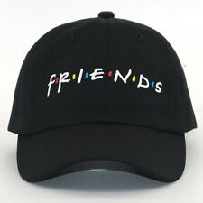Friends Embroidered Baseball Cap Adjustable Dad Hat Letters Cap Strapback Unisex