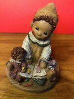 """All God's Children"", Martha Holcombe Figurine Artwork, RagBaby 'Mitzi' #2(1995)"