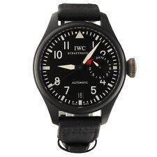 IWC Big Pilot Watch Top Gun Black Ceramic 48mm Power Reserve Watch IW501901 Mint