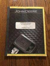 John Deere 24t Series Baler Ome38936 Operators Manual Book