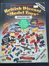 1986 Book The Swapmeet & Toy fair Catalogue British Diecast Model Toys