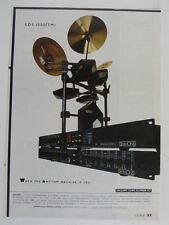 retro magazine advert 1986 SIMMONS sds 1000/tmi