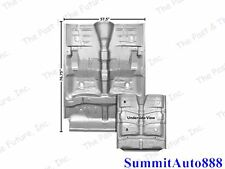 Chevy El Camino Complete Floor Pan w/ Rocker - Weld Through Primer ELFL6869-71