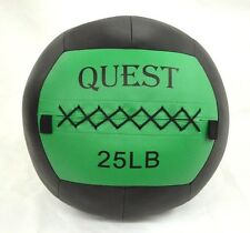25 Lb Quest X Factor Wall Ball Crossfit MMA Cross Training Medicine Ball