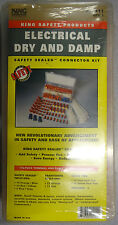 2 pack of Safety sealed connector 175-piece terminal & cable tie assortment kit